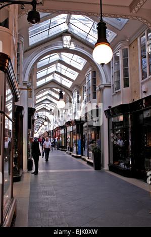 Fashionable Burlington Arcade Piccadilly London - Stock Photo