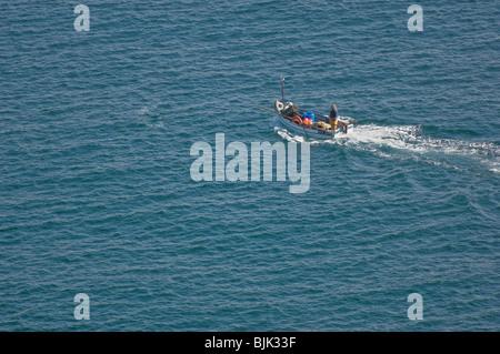 Small Fishing Boat - John Gollop - Stock Photo