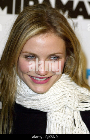 CAMERON DIAZ GANGS OF NEW YORK LA PREMIERE DGA LOS ANGELES USA 17 December 2002 - Stock Photo