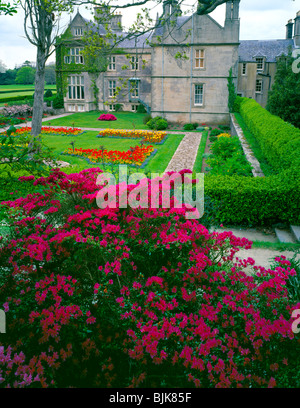 Muckross House and Gardens, Killarney National Park, Republic of Ireland, County Kerry, May, Lough Leane Muckross - Stock Photo
