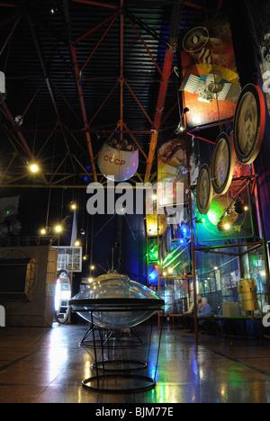 The Sergiy Korolyov Astronautics Museum in Zhytomyr. The 'Cosmos' exhibition. - Stock Photo