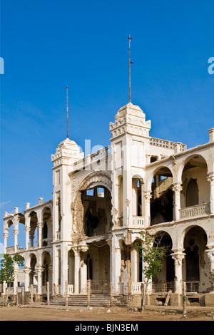 banco d'Italia, Italian bank, Massawa, Eritrea - Stock Photo