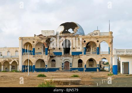 Imperial palace, Massawa, Eritrea - Stock Photo