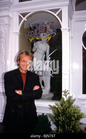 Mark King, Bass Player, Level 42, Joe Daflos, Bar, Ryde, Isle of Wight, England, - Stock Photo