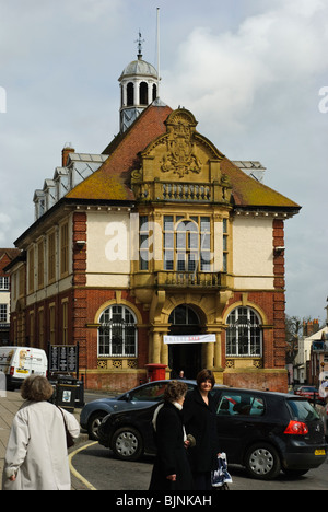 Marlborough Town Hall, home of the Town Council. - Stock Photo