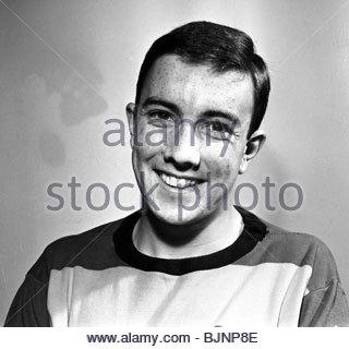 1966 PARTICK THISTLE Dougie Davidson. - Stock Photo