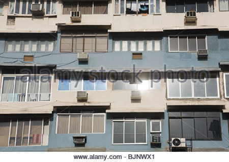 Facade of a building - Stock Photo