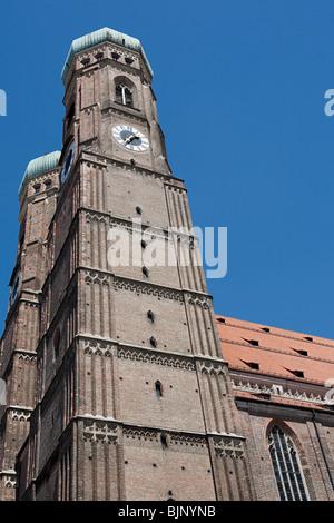 Munich frauenkirche - Stock Photo