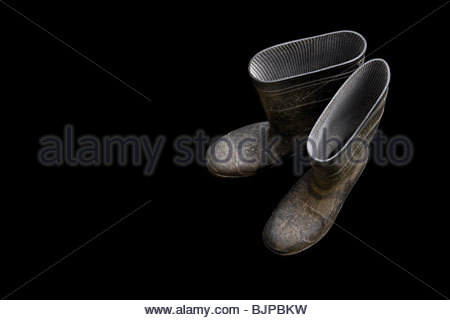 Rubber boots - Stock Photo