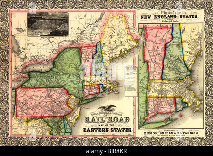 new england states map Stock Vector Art  Illustration Vector