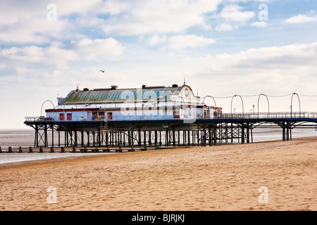 Pier at Cleethorpes Lincolnshire England UK - Stock Photo