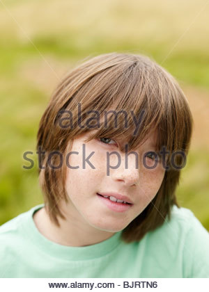 Freckled Face Boy Stock Photo 310936359 Alamy