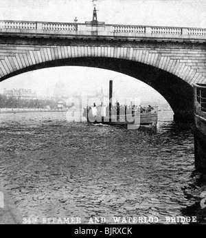 London Bridge Early 1900s Stock Photo Royalty Free Image