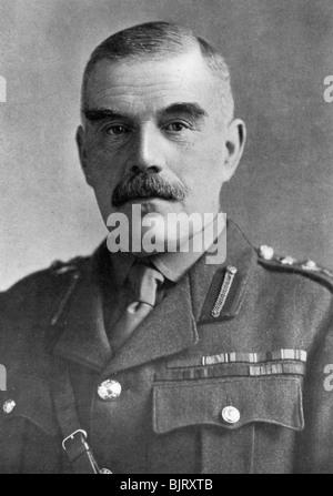General Sir William Robertson, British soldier, c1920. Artist: Bassano Studio - Stock Photo