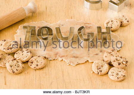 Tough cookie cutters - Stock Photo