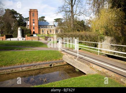 Church of St Mary, Grundisburgh, Suffolk - Stock Photo