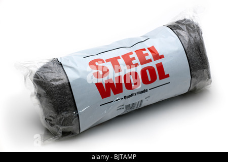 Bag of 'Steel Wool 'wire wool - Stock Photo