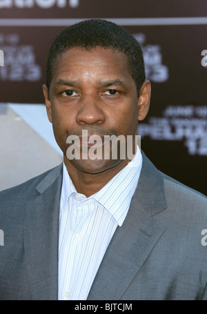 DENZEL WASHINGTON THE TAKING OF PELHAM 123 LOS ANGELES PREMIERE WESTWOOD CA USA 04 June 2009 - Stock Photo