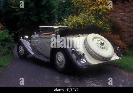 Delage D8 SS French luxury car of the early 1930's - Stock Photo