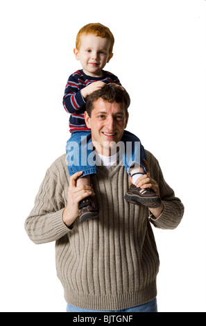 Father with son Stock Photo