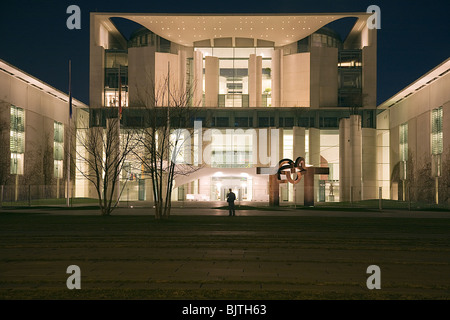 Bundeskanzleramt, Berlin, Germany - Stock Photo