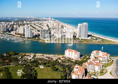 Miami beach area - Stock Photo