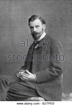 Albert Baertsoen (1866-1922), Belgian printmaker, 1898. - Stock Photo