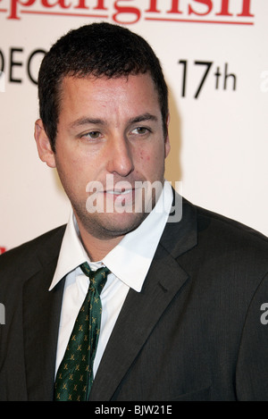 ADAM SANDLER SPANGLISH FILM PREMIERE WESTWOOD LOS ANGELES USA 09 December 2004 - Stock Photo