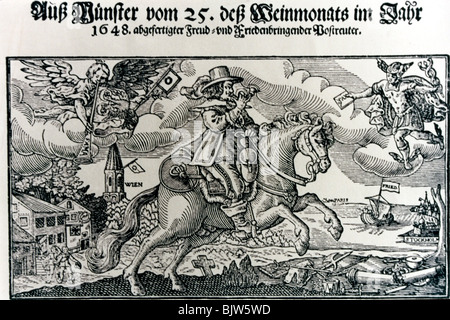 events, Thirty Years War 1618 - 1648, Additional-Rights-Clearances-NA - Stock Photo