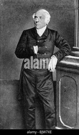 Antoine Pierre Berryer, French lawyer and politician, 1863. Artist: Unknown - Stock Photo