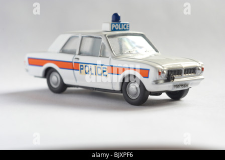 Ford Cortina Police Car (MKII) - Stock Photo
