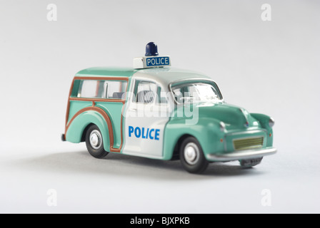 Austin Morris minor traveller police car - Stock Photo