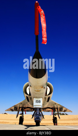 Israeli Air Force Dassault Mirage IIIC fighter plane - Stock Photo