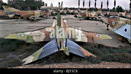 Israeli Air Force McDonnell Douglas F-4 Phantom II long-range supersonic jet interceptor fighter/fighter-bomber - Stock Photo