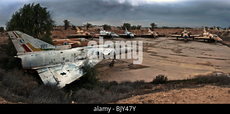 The Israel Aircraft Industries Kfir an all-weather, multi-role combat aircraft - Stock Photo