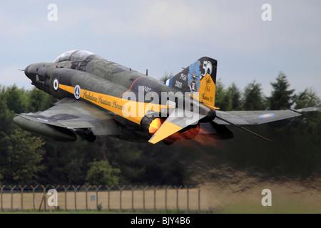 McDonnell Douglas F-4 Phantom II long-range supersonic jet interceptor fighter/fighter-bomber - Stock Photo