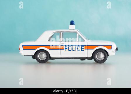 Ford Cortina Police Car (MKII) - Stock Photo
