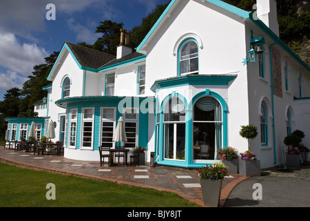 Hotel in Portmeirion Village North Wales - Stock Photo