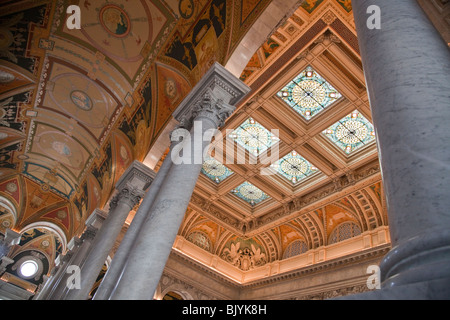 Library of Congress, Washington, DC - Stock Photo