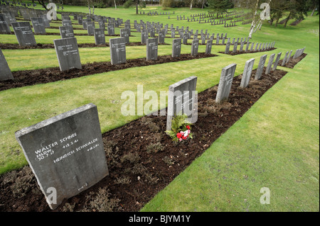 The German Military Cemetery on Cannock Chase, Staffordshire, England. - Stock Photo