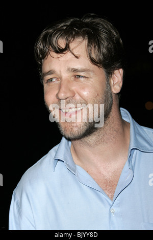 RUSSELL CROWE CINDERELLA MAN PARTY. VENICE VENICE ITALY 05 September 2005 - Stock Photo