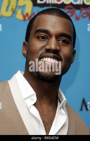 KANYE WEST BILLBOARD MUSIC AWARDS 05 MGM GRAND ARENA LAS VEGAS USA 06 December 2005 - Stock Photo