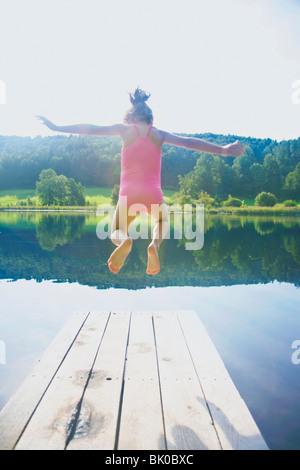 Girl in nature - Stock Photo