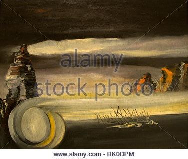 Oscar Dominguez Cosmic Landscape1938 Spain Spanish Painter - Stock Photo
