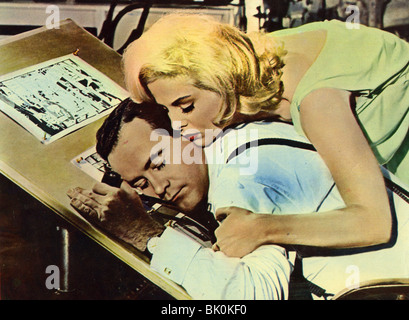 HOW TO MURDER YOUR WIFE - 1964 UA film with Virna Lisi and Jack Lemmon - Stock Photo