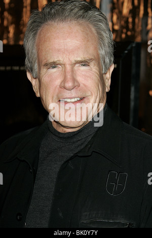 WARREN BEATTY ASK THE DUST PREMIERE HOLLYWOOD LOS ANGELES USA 02 March 2006 - Stock Photo