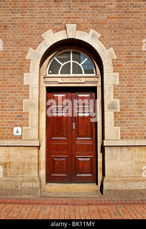 the women's entrance to the job centre west street Sheffield south Yorkshire England UK - Stock Photo