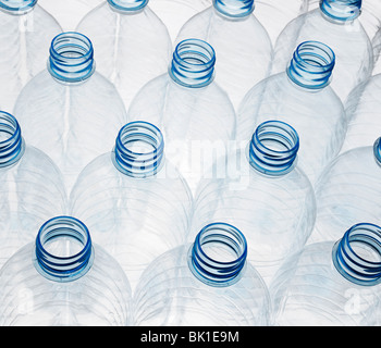 Plastic Bottles Ready for Recycling - Stock Photo