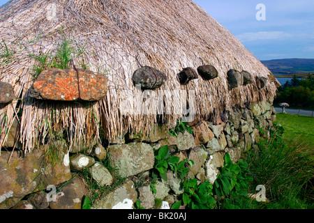 Black House Colbost Folk Museum Skye Highland Scotland