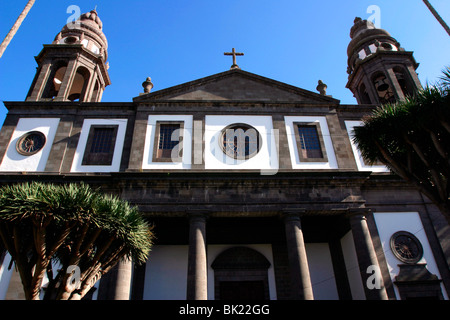 Cathedral of Nuesta Senora de los Remedios, La Laguna, Tenerife, Canary Islands, 2007. - Stock Photo